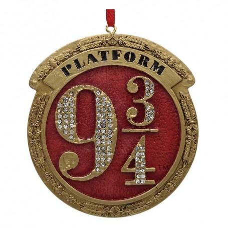 Harry Potter décorations sapin Platform 9 3/4 (carton de 12)