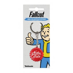 Fallout porte-clés métal Nuka Cola Bottlecap