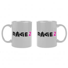 Rage 2 mug Logo White