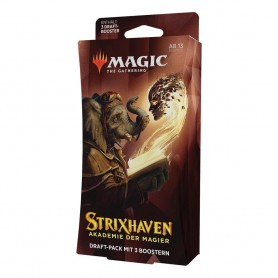Magic the Gathering Strixhaven: School of Mages pack 3 boosters de draft *ALLEMAND*