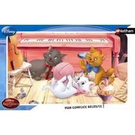 Puzzle cadre 15 p Les Aristochats / Disney