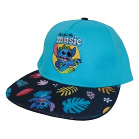 Lilo & Stitch casquette hip hop Here For The Music