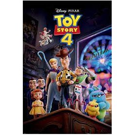 POSTER Toy story 4 antique shop anarchy