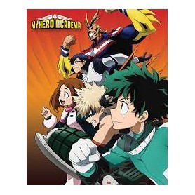 POSTER MY HERO ACADEMIA (HEROES TO ACTION) MINI POSTER