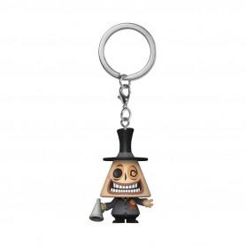 L´étrange Noël de Mr. Jack présentoir porte-clés Pocket POP! Vinyl The Mayor 4 cm (12)