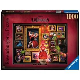Disney Villainous puzzle La Reine de coeur (1000 pièces)