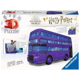 Harry Potter puzzle 3D Magicobus (216 pièces)