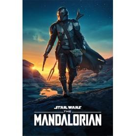 Star Wars The Mandalorian posters Nightfall 61 x 91 cm (pack de 5)