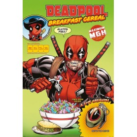 Dead Pool posters Cereal 61 x 91 cm (pack de 5)
