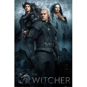 The Witcher posters Connected by Fate 61 x 91 cm (pack de 5)