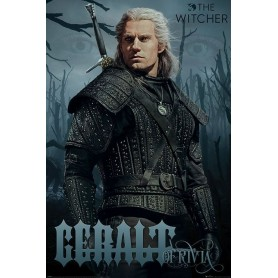 The Witcher posters Geralt of Rivia 61 x 91 cm (pack de 5)