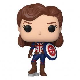 What If...? POP! Marvel Vinyl Figurine Captain Carter 9 cm