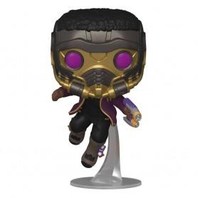 What If...? POP! Marvel Vinyl Figurine T'Challa Star-Lord 9 cm