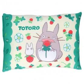 Mon voisin Totoro coussin Totoro & Strawberries 28 x 39 cm