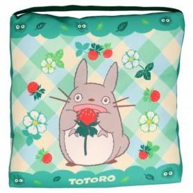 Mon voisin Totoro coussin Totoro & Strawberries 30 x 30 x 5 cm