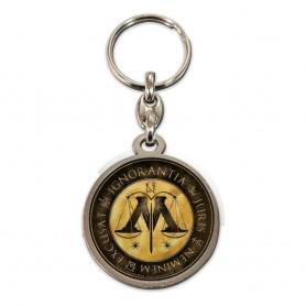 Harry Potter porte-clés métal Ministry of Magic