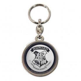 Harry Potter porte-clés métal Hogwarts Shield