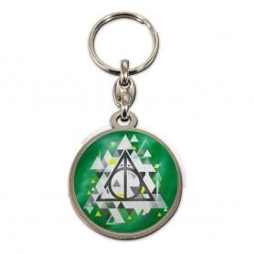 Harry Potter porte-clés métal Deathly Hallows