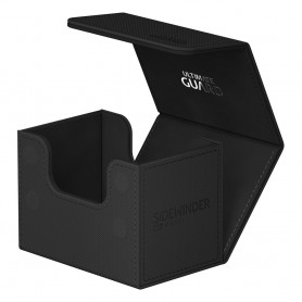 Ultimate Guard Sidewinder 80+ XenoSkin Monocolor Noir