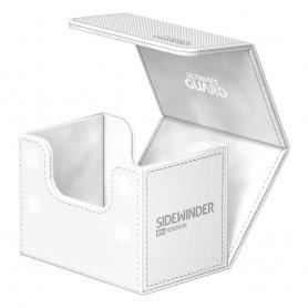 Ultimate Guard Sidewinder 80+ XenoSkin Monocolor Blanc