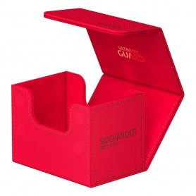 Ultimate Guard Sidewinder 80+ XenoSkin Monocolor Rouge