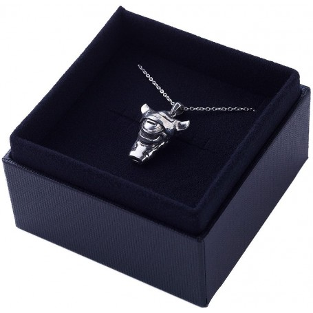 Made in Abyss pendentif et collier The Unmovable Sovereign - White Whistle (argent sterling)