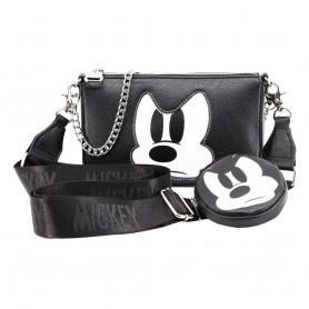 Disney set sac à bandoulière IHoney & porte-monnaie Cookie Mickey Mouse Angry Face