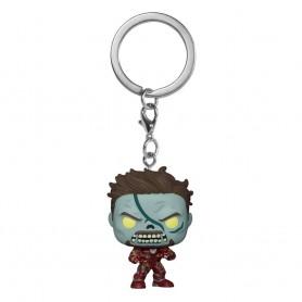 Marvel What If...? présentoir porte-clés Pocket POP! Vinyl Zombie Iron Man 4 cm (12)