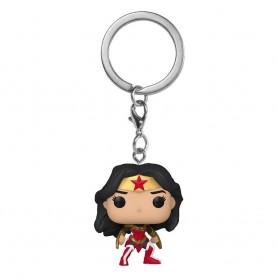 Wonder Woman 80th Anniversary présentoir porte-clés Pocket POP! Vinyl A Twist Of Fate 4 cm (12)