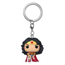 DC Comics présentoir porte-clés Pocket POP! Vinyl Wonder Woman 80th Anniversary 4 cm (12)