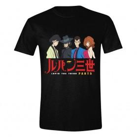 Lupin III T-Shirt Part 5 Lineup (XL)