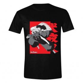 InuYasha T-Shirt Kagome on Inuyasha's Back (M)