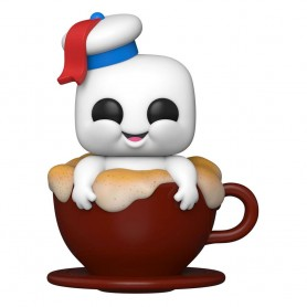 SOS Fantômes : L'Héritage POP! Vinyl figurine Mini Puff in Cappuccino Mug 9 cm