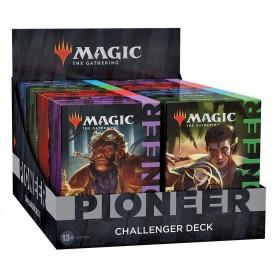 Magic the Gathering présentoir Pioneer Challenger Deck 2021 (8) *ALLEMAND*