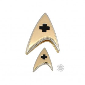 Star Trek Discovery set pin's & pin Enterprise Medical