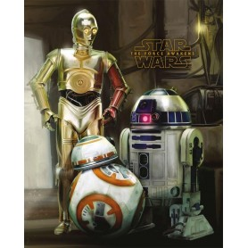 "Poster - Star Wars ""Droids"""