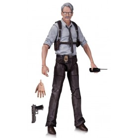 Batman Arkham Knight figurine Commissioner Gordon 17 cm