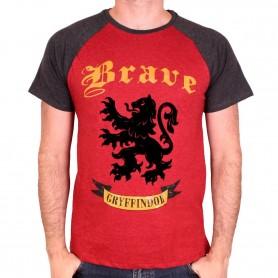 Harry Potter - T-shirt Gryffindor Brave
