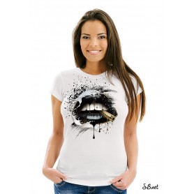 "T-Shirt ""BLACK LIPS"""