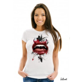 "T-Shirt ""RED LIPS"""