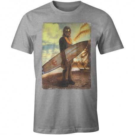 T-shirt Star Wars - Chewie on the Beach