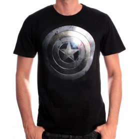 Marvel Comics - Avengers - Captain America Shield Silver